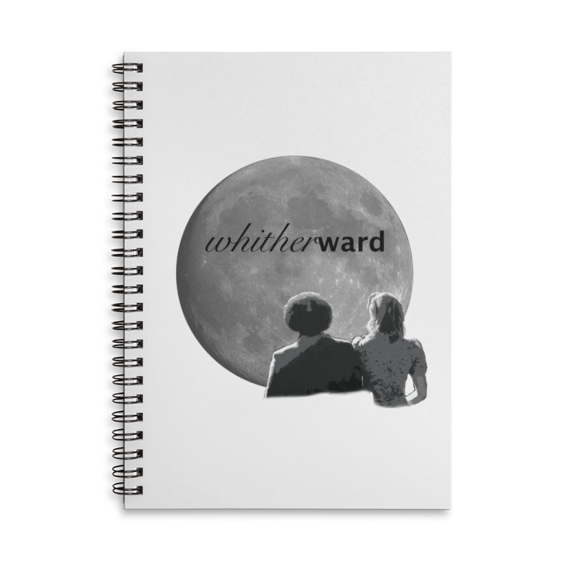 WW Moon Accessories Lined Spiral Notebook by whitherward's Artist Shop