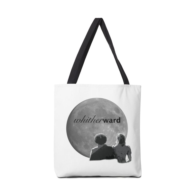 WW Moon Accessories Tote Bag Bag by whitherward's Artist Shop