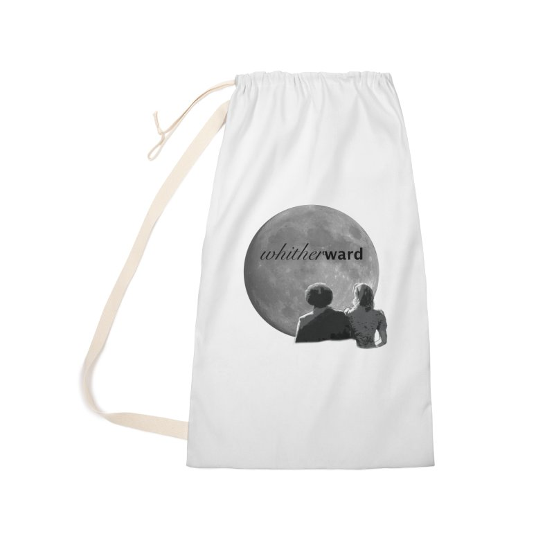 WW Moon Accessories Laundry Bag Bag by whitherward's Artist Shop