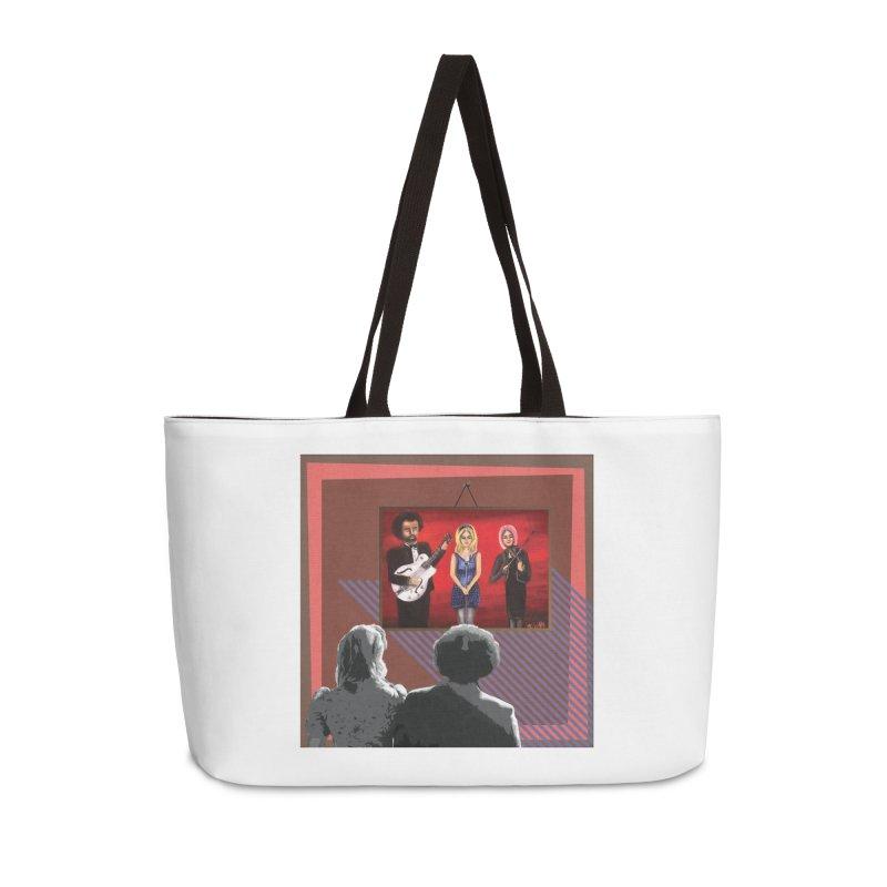 Human Album Accessories Weekender Bag Bag by whitherward's Artist Shop