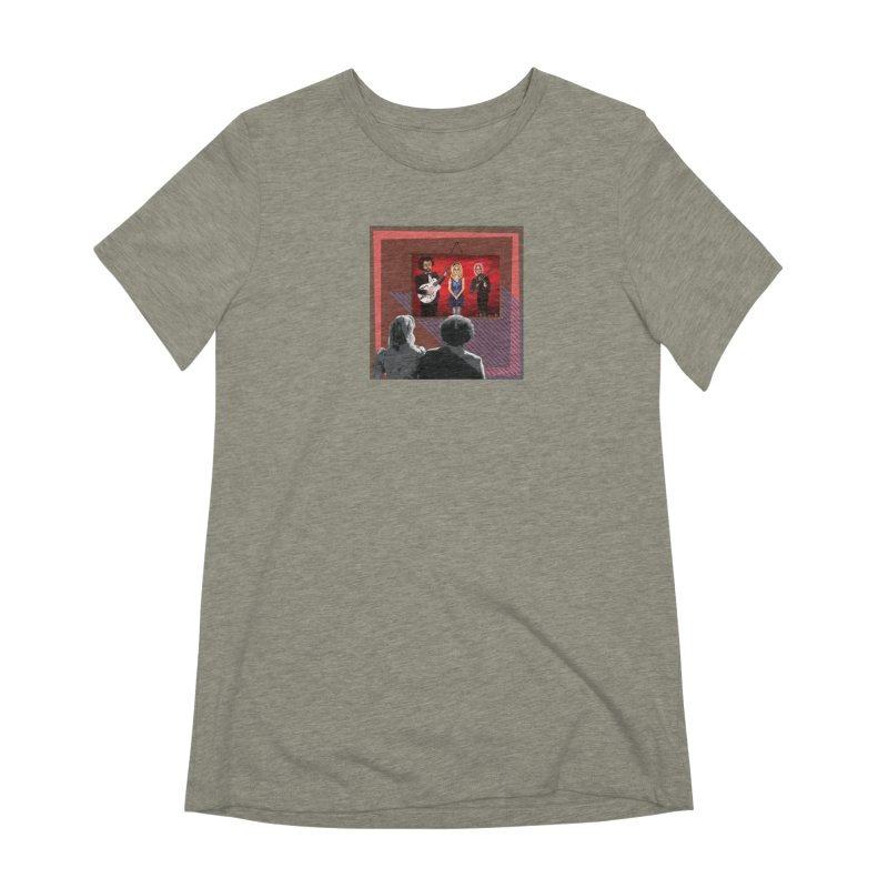 Human Album Women's Extra Soft T-Shirt by whitherward's Artist Shop