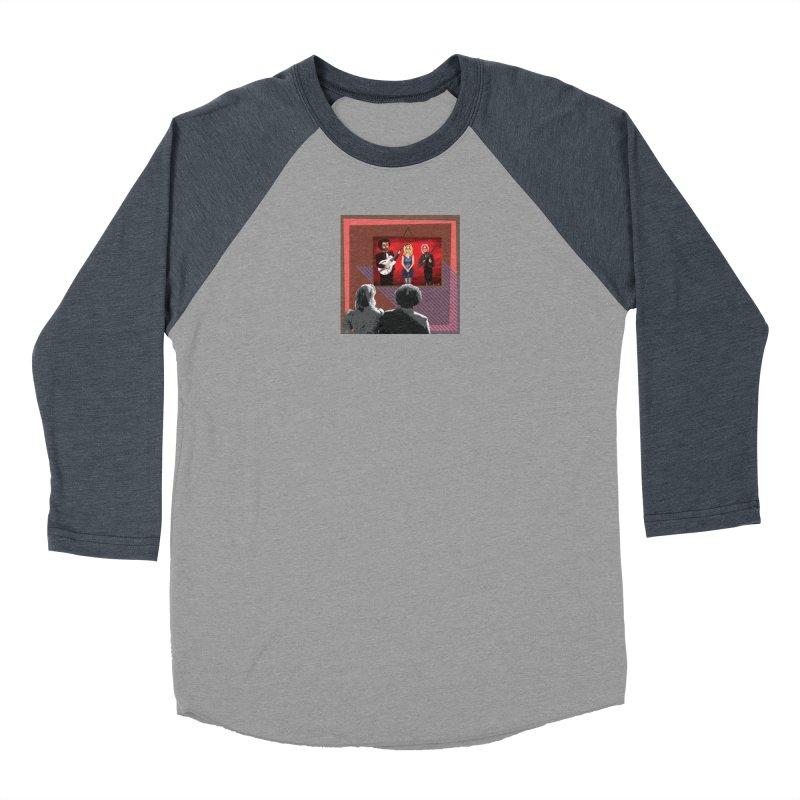 Human Album Women's Baseball Triblend Longsleeve T-Shirt by whitherward's Artist Shop
