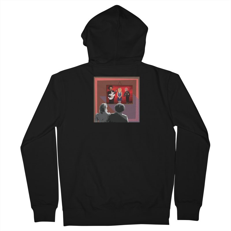 Human Album Women's French Terry Zip-Up Hoody by whitherward's Artist Shop