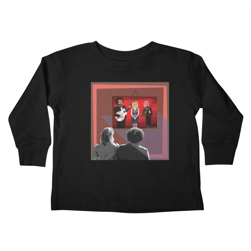 Human Album Kids Toddler Longsleeve T-Shirt by whitherward's Artist Shop