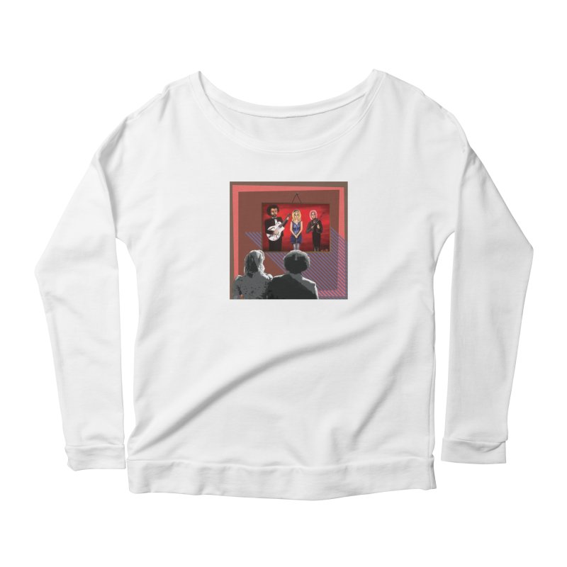 Human Album Women's Scoop Neck Longsleeve T-Shirt by whitherward's Artist Shop