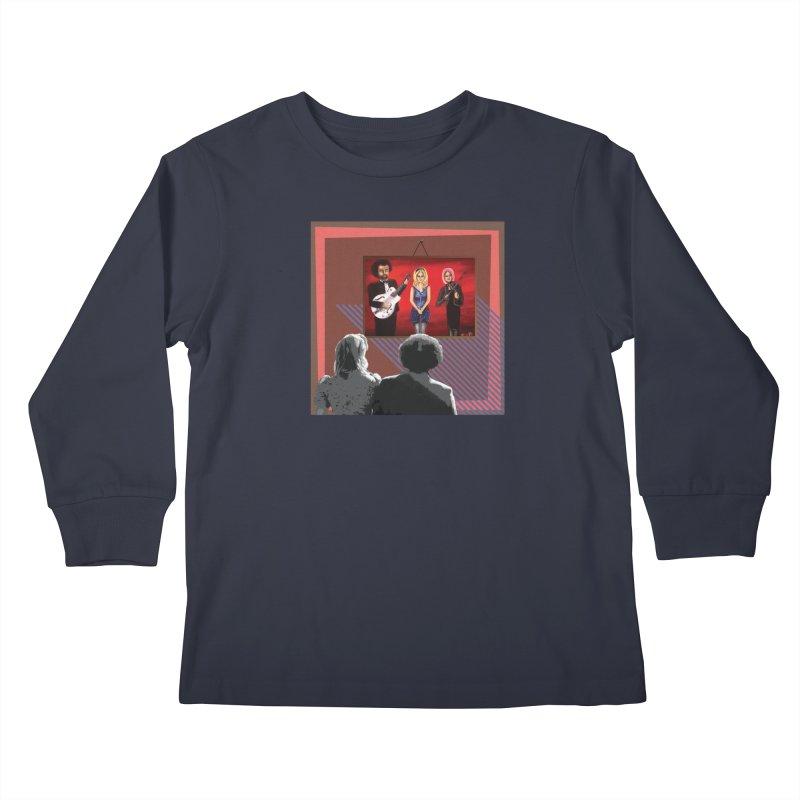 Human Album Kids Longsleeve T-Shirt by whitherward's Artist Shop