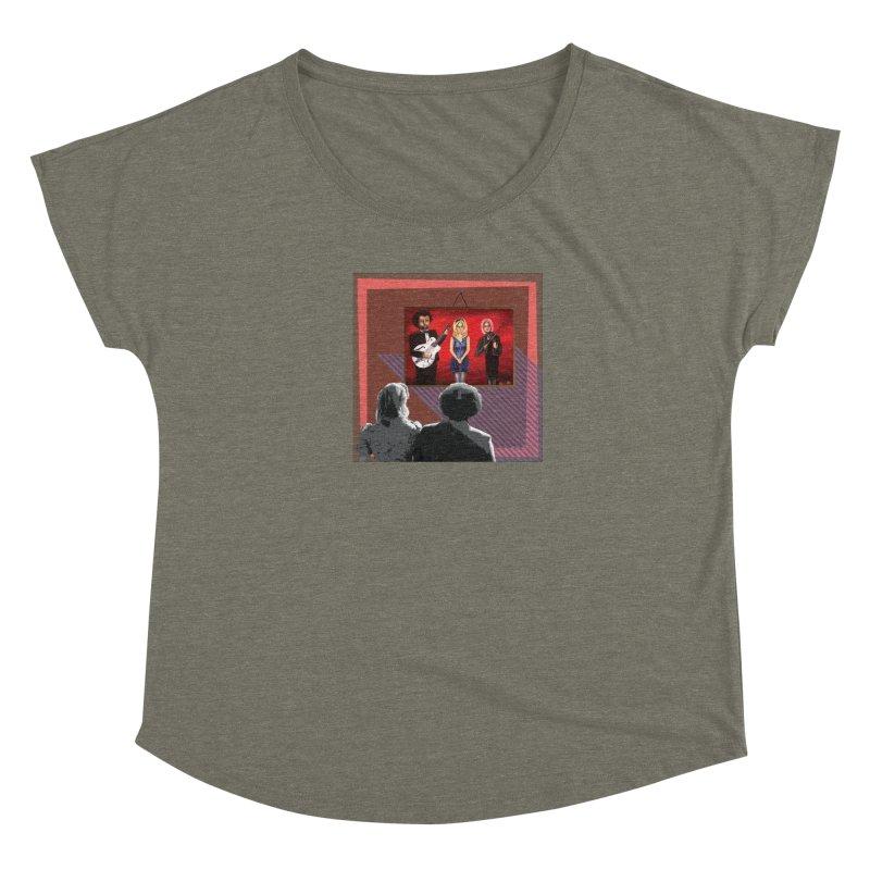 Human Album Women's Scoop Neck by whitherward's Artist Shop