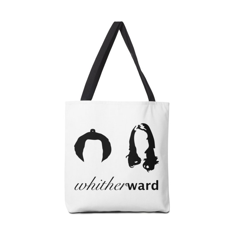 Silhouettes - Black Accessories Tote Bag Bag by whitherward's Artist Shop