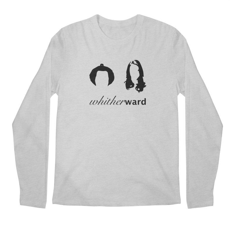 Silhouettes - Black Men's Regular Longsleeve T-Shirt by whitherward's Artist Shop