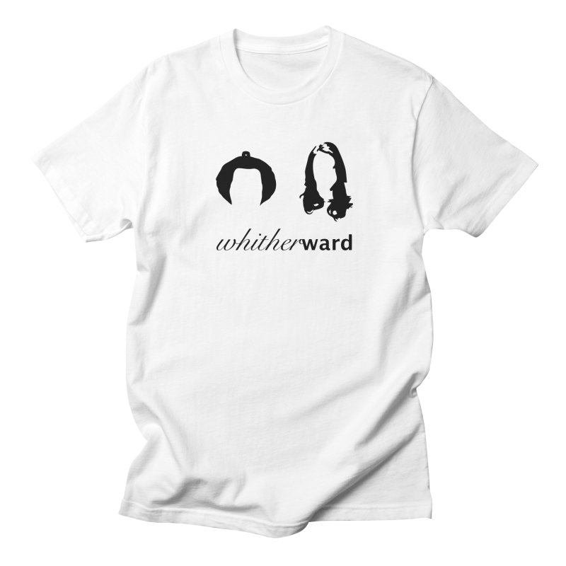 Silhouettes - Black Men's Regular T-Shirt by whitherward's Artist Shop