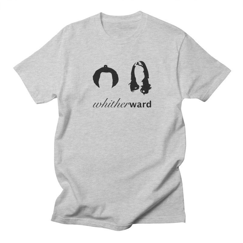Silhouettes - Black Men's Regular T-Shirt by whitherward's Artist Shop