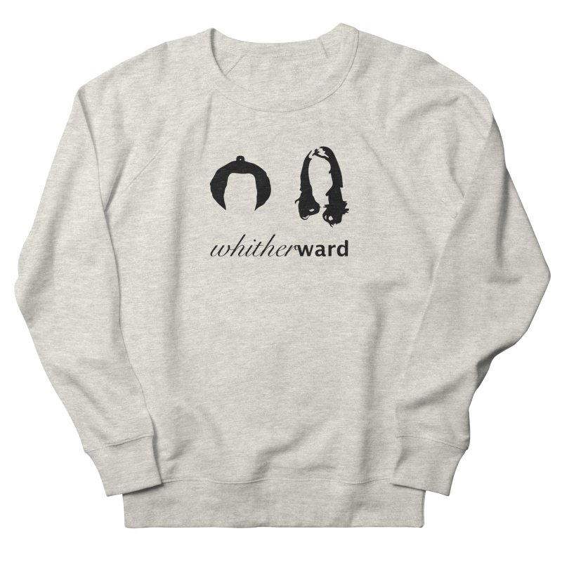 Silhouettes - Black Women's French Terry Sweatshirt by whitherward's Artist Shop
