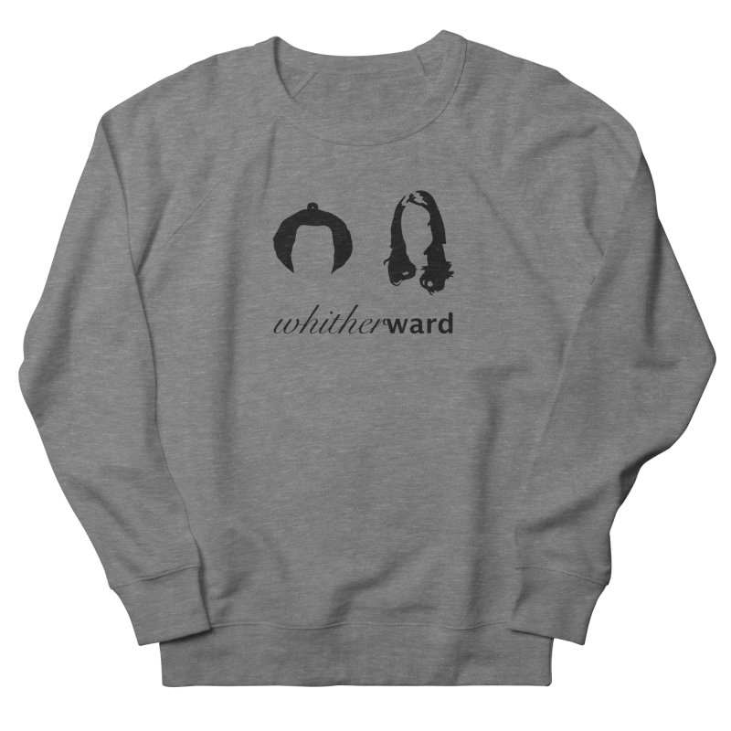 Silhouettes - Black Men's French Terry Sweatshirt by whitherward's Artist Shop
