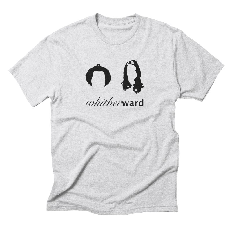 Silhouettes - Black Men's Triblend T-Shirt by whitherward's Artist Shop