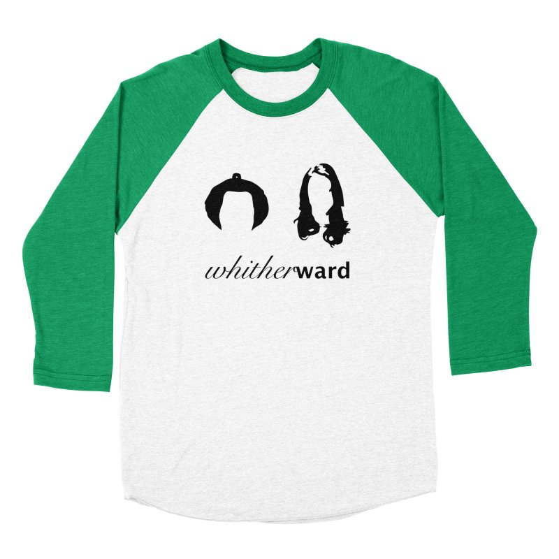 Silhouettes - Black Women's Baseball Triblend Longsleeve T-Shirt by whitherward's Artist Shop
