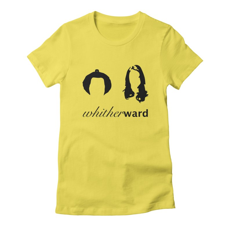 Silhouettes - Black Women's T-Shirt by whitherward's Artist Shop