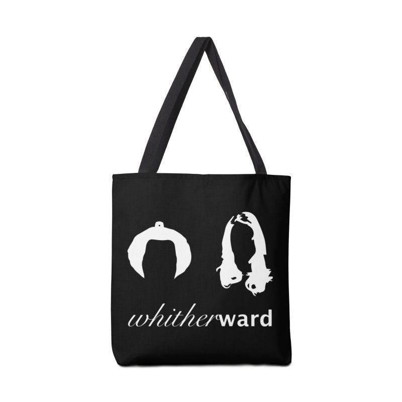 Silhouettes - White Accessories Tote Bag Bag by whitherward's Artist Shop