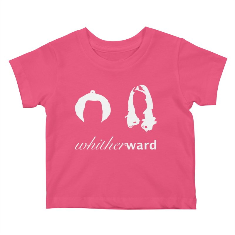 Silhouettes - White Kids Baby T-Shirt by whitherward's Artist Shop