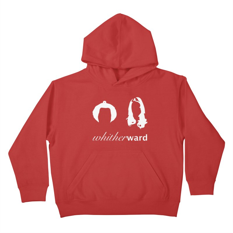 Silhouettes - White Kids Pullover Hoody by whitherward's Artist Shop
