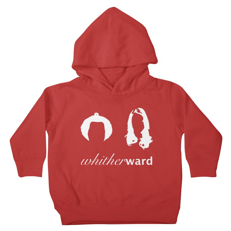 Silhouettes - White Kids Toddler Pullover Hoody by whitherward's Artist Shop