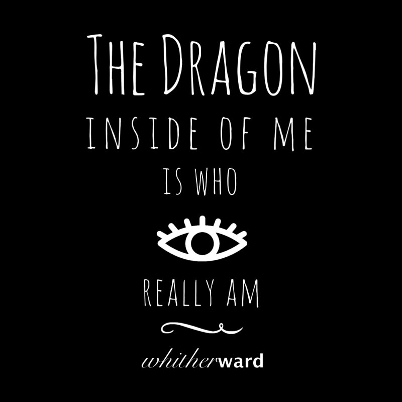 Dragon Lyrics - White by whitherward's Artist Shop