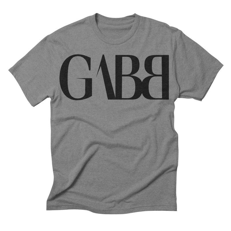 GABB Men's Triblend T-shirt by GABB DESIGN