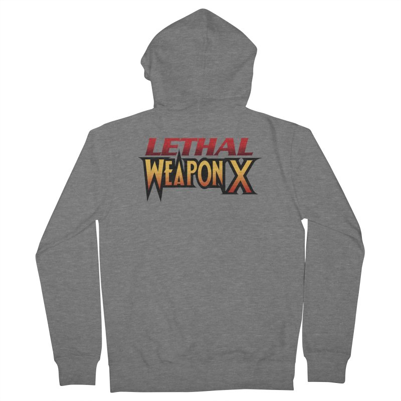 Lethal Weapon X Men's Zip-Up Hoody by whoisrico's Artist Shop