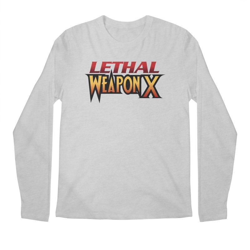 Lethal Weapon X Men's Regular Longsleeve T-Shirt by whoisrico's Artist Shop