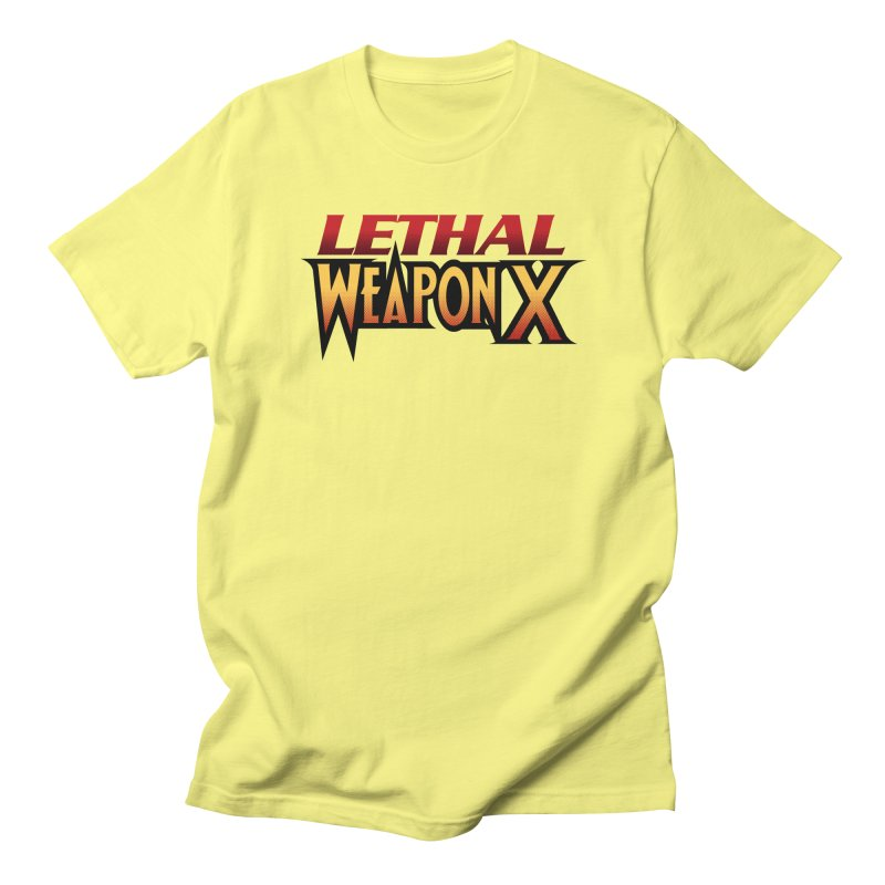 Lethal Weapon X Men's T-Shirt by whoisrico's Artist Shop