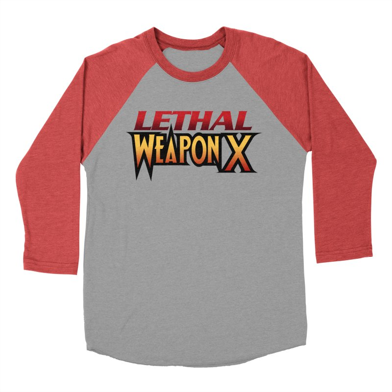Lethal Weapon X Men's Baseball Triblend Longsleeve T-Shirt by whoisrico's Artist Shop