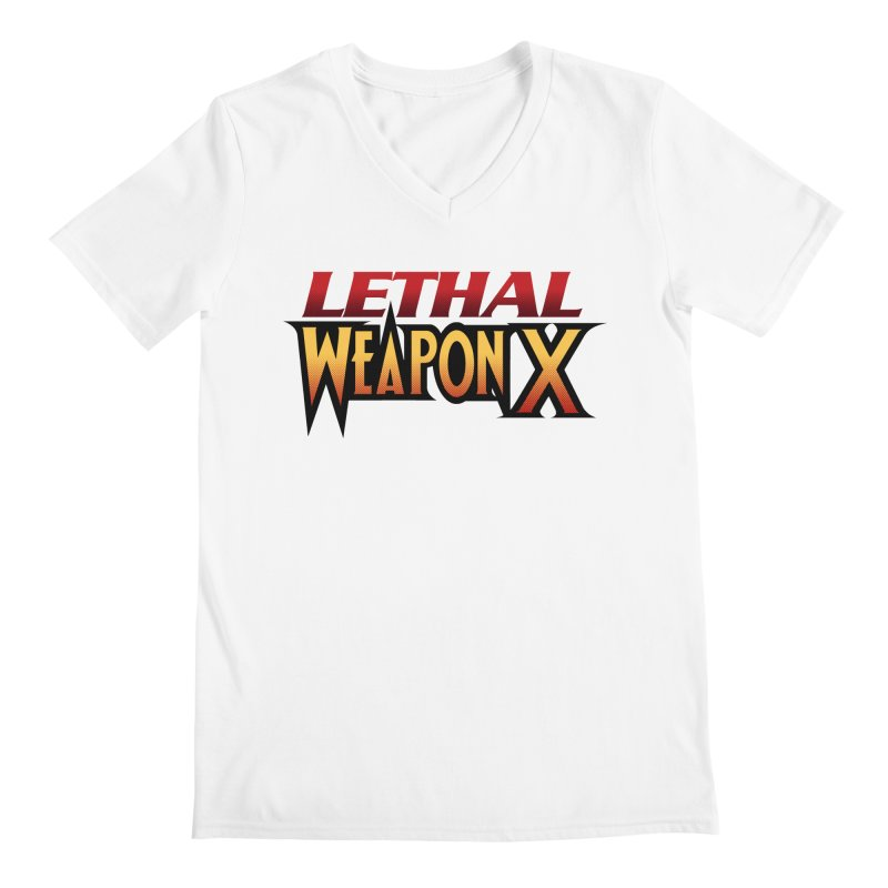 Lethal Weapon X Men's Regular V-Neck by whoisrico's Artist Shop