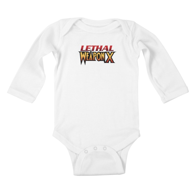 Lethal Weapon X Kids Baby Longsleeve Bodysuit by whoisrico's Artist Shop