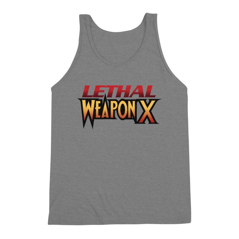 Lethal Weapon X Men's Triblend Tank by whoisrico's Artist Shop