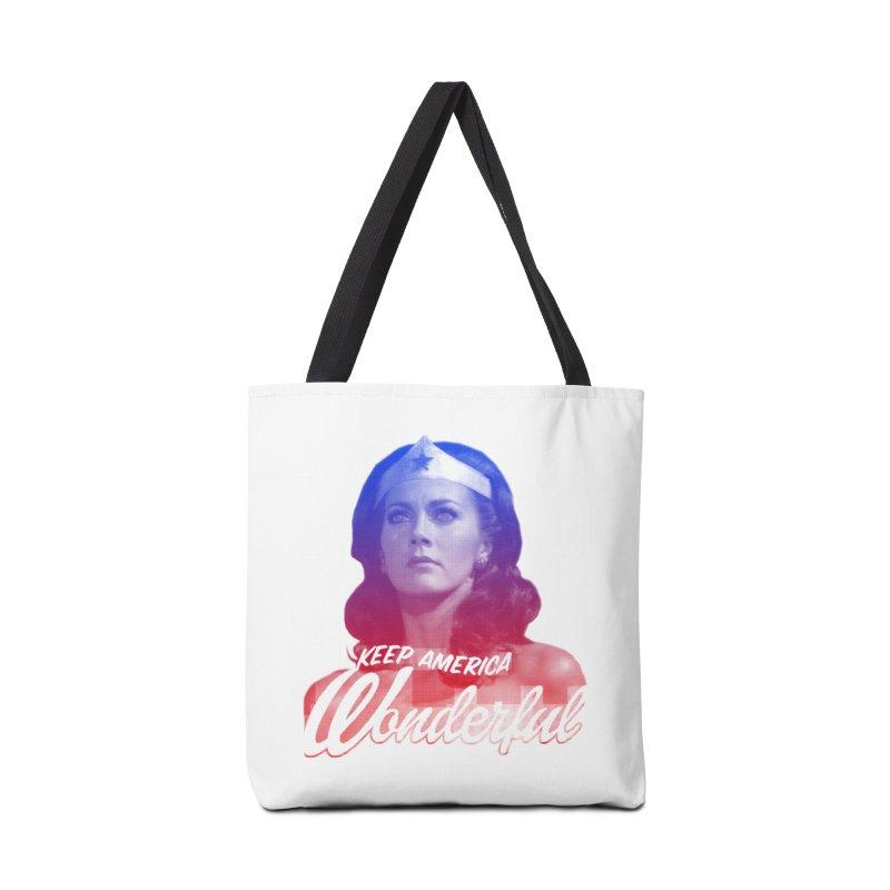 Keep America Wonderful Accessories Bag by whoisrico's Artist Shop