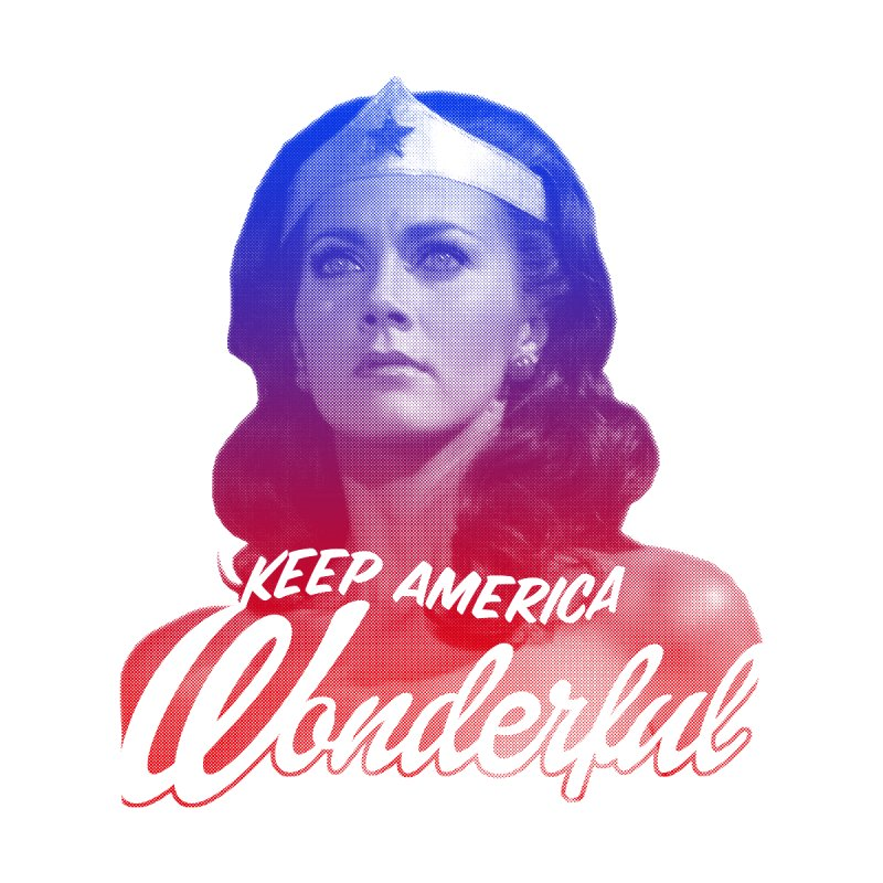 Keep America Wonderful Men's T-Shirt by whoisrico's Artist Shop