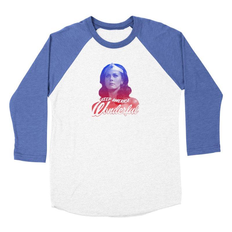 Keep America Wonderful Women's Longsleeve T-Shirt by whoisrico's Artist Shop
