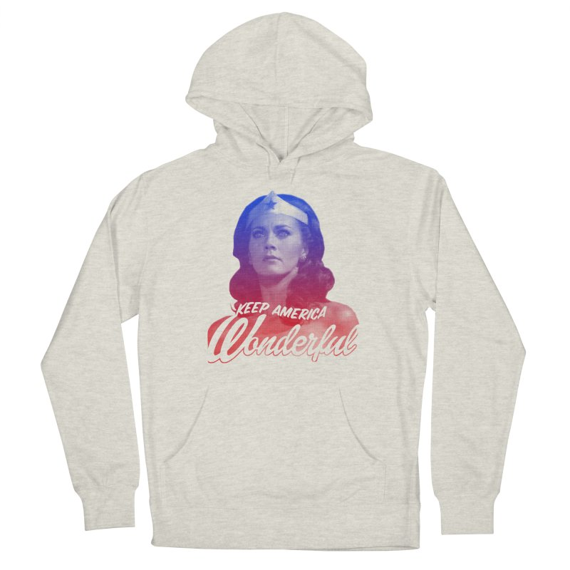 Keep America Wonderful Women's Pullover Hoody by whoisrico's Artist Shop