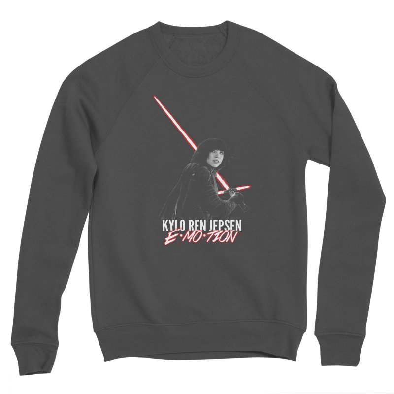Kylo Ren Jepsen | E·MO·TION Men's Sponge Fleece Sweatshirt by whoisrico's Artist Shop