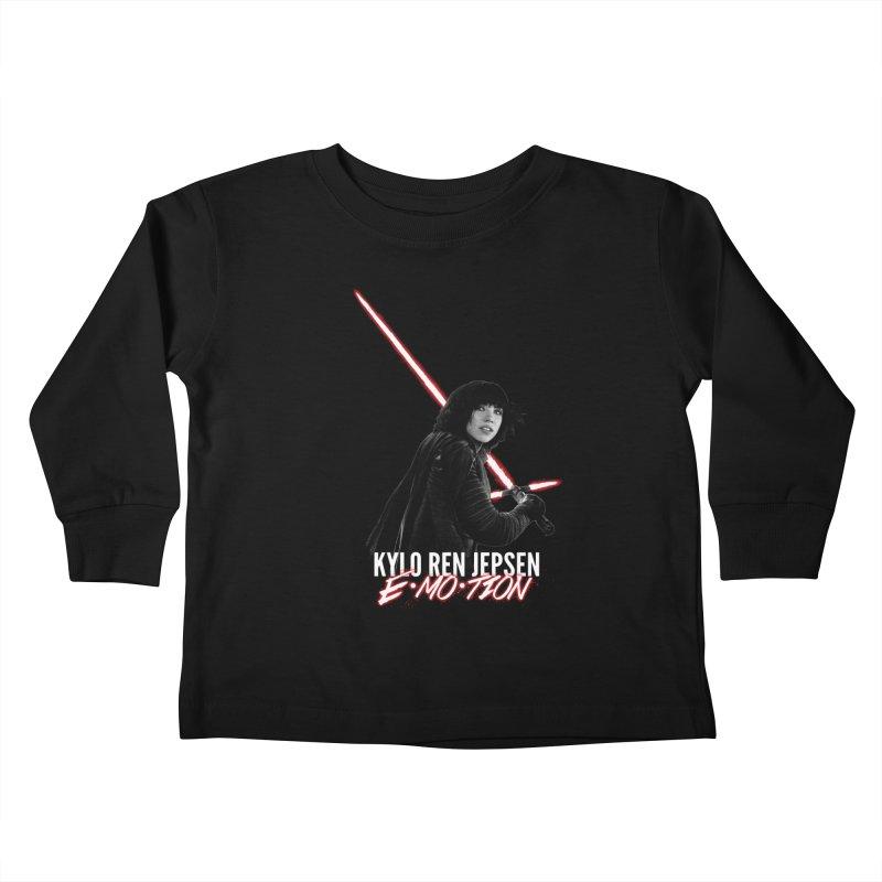 Kylo Ren Jepsen | E·MO·TION Kids Toddler Longsleeve T-Shirt by whoisrico's Artist Shop