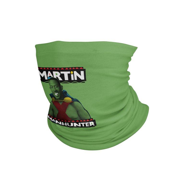 Martin Manhunter Accessories Neck Gaiter by whoisrico's Artist Shop