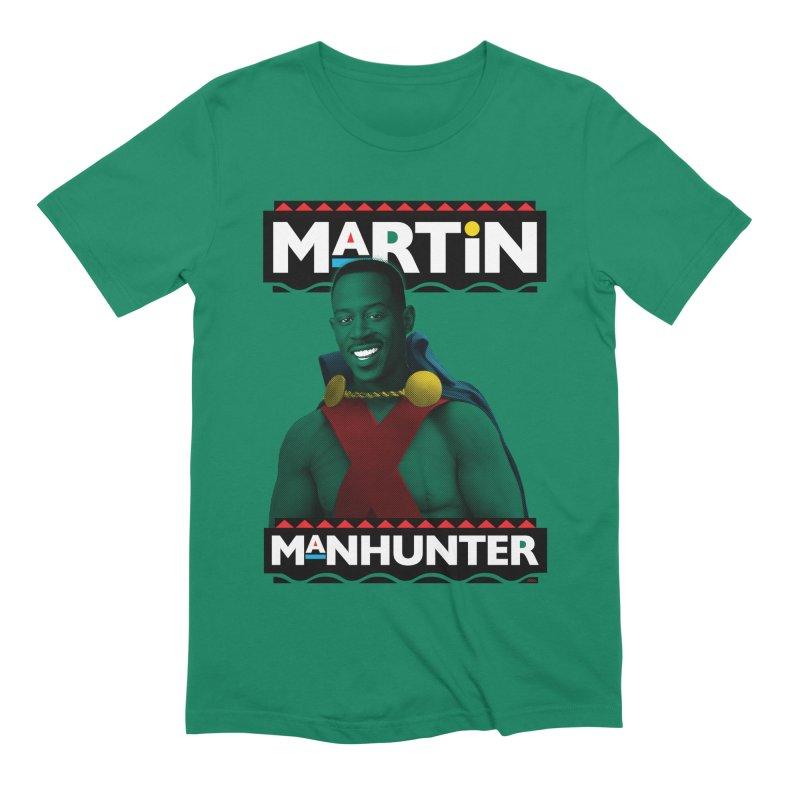 Martin Manhunter Men's Extra Soft T-Shirt by whoisrico's Artist Shop