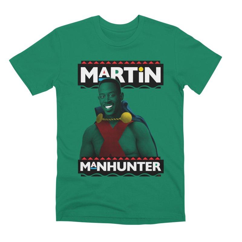 Martin Manhunter Men's Premium T-Shirt by whoisrico's Artist Shop