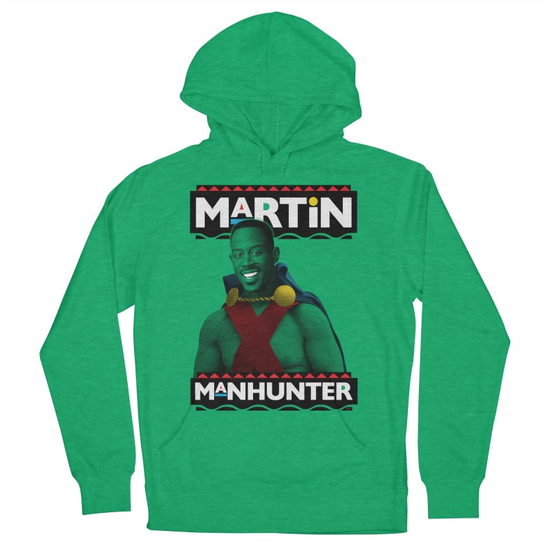 Martin Manhunter Women's French Terry Pullover Hoody by whoisrico's Artist Shop