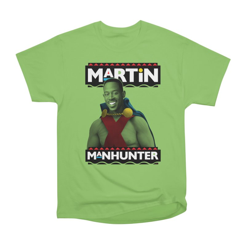 Martin Manhunter Men's Heavyweight T-Shirt by whoisrico's Artist Shop