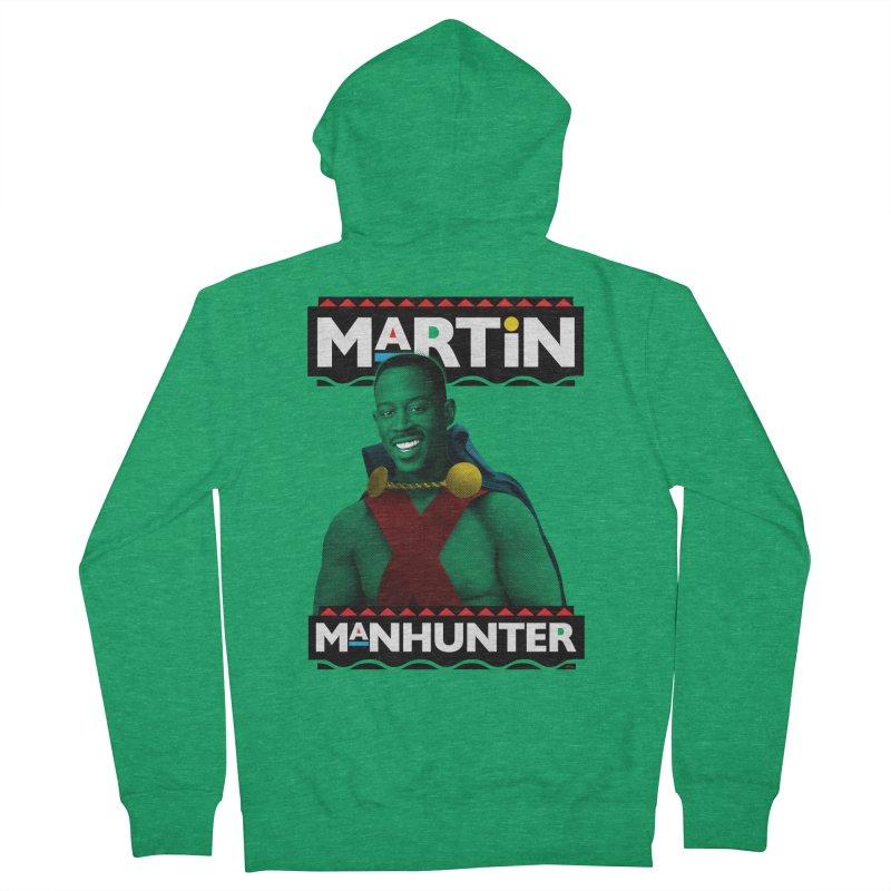 Martin Manhunter Men's Zip-Up Hoody by whoisrico's Artist Shop