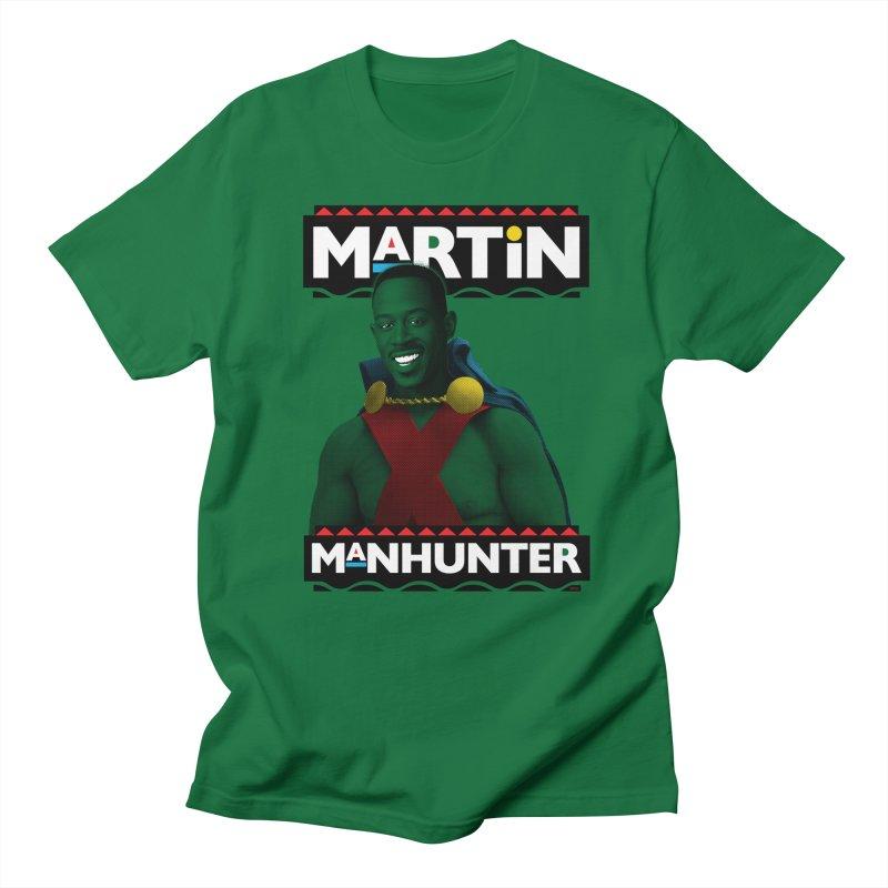 Martin Manhunter Men's T-Shirt by whoisrico's Artist Shop