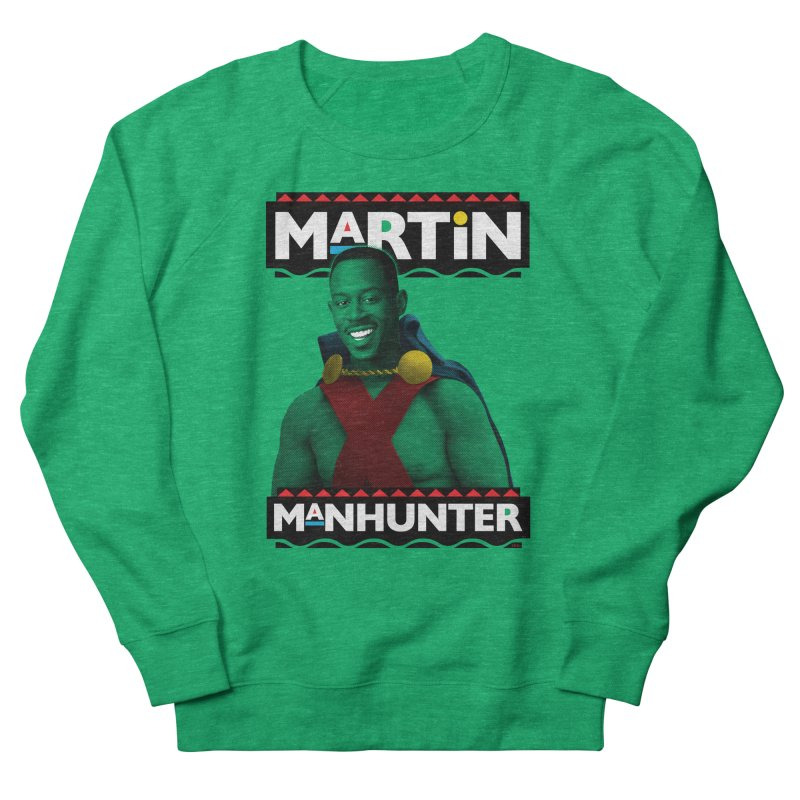 Martin Manhunter Men's French Terry Sweatshirt by whoisrico's Artist Shop