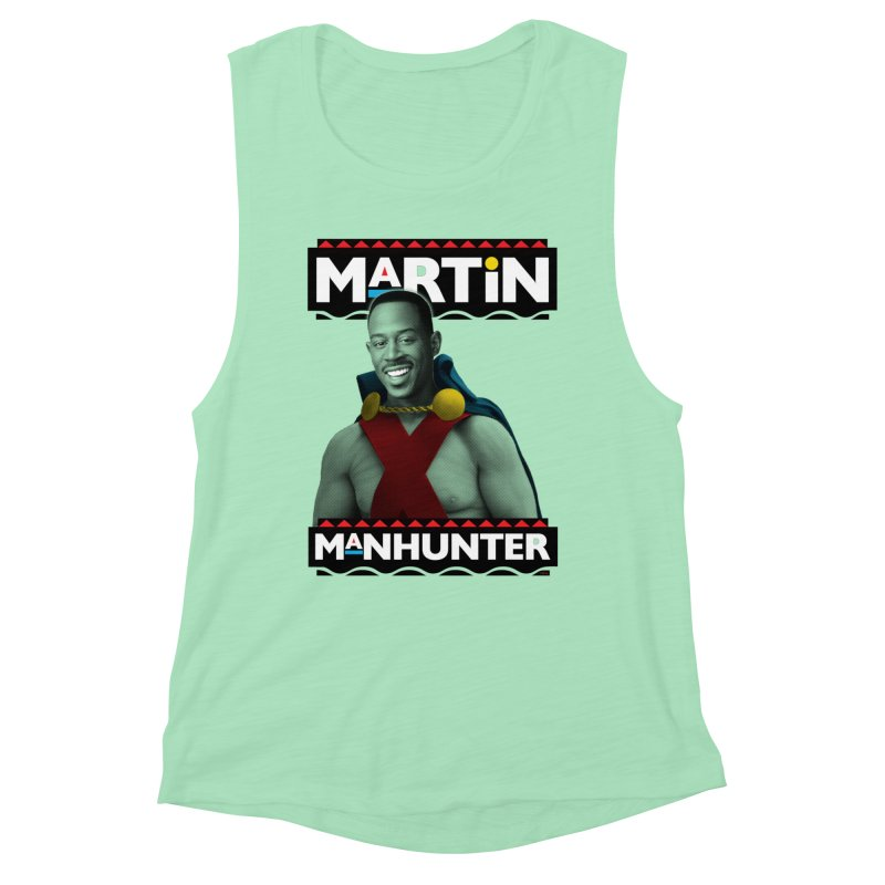 Martin Manhunter Women's Muscle Tank by whoisrico's Artist Shop