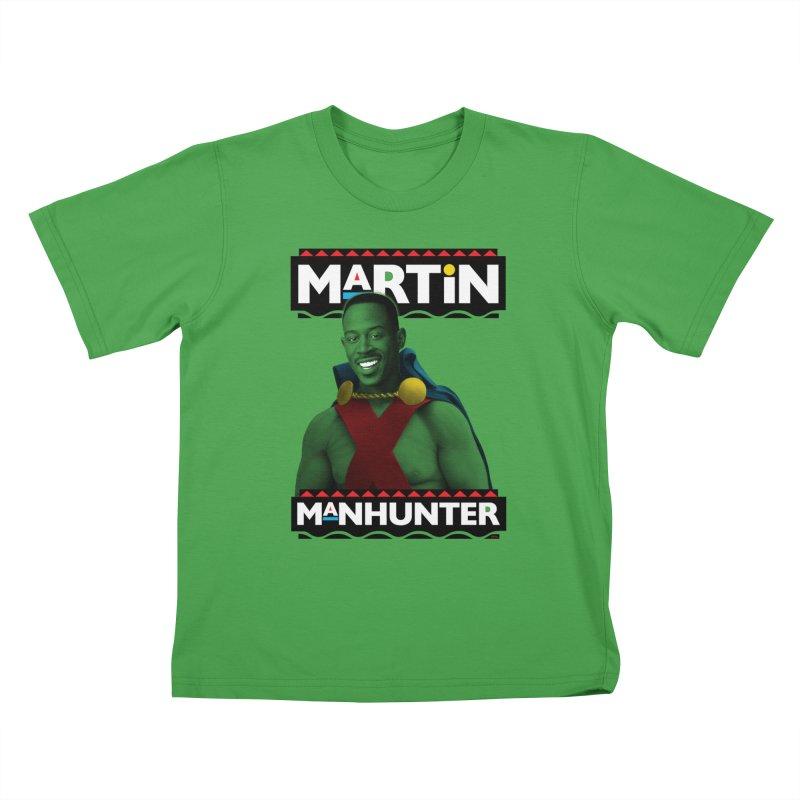Martin Manhunter Kids T-Shirt by whoisrico's Artist Shop
