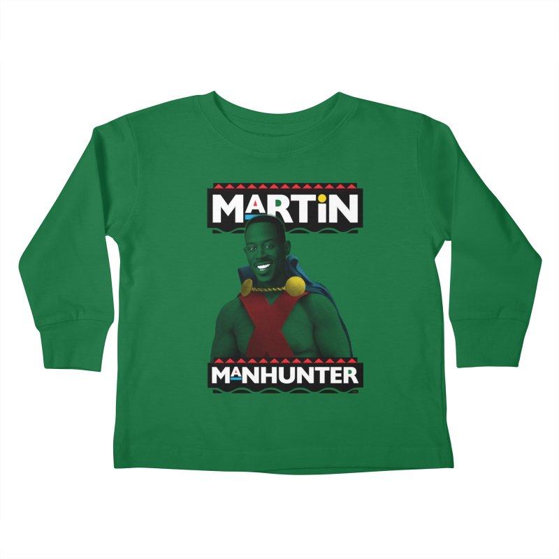 Martin Manhunter Kids Toddler Longsleeve T-Shirt by whoisrico's Artist Shop